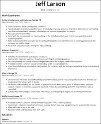 Customer Service Retail Resume 100 Sample Retail Resume Smlf Beginners Acting Resume Resume