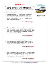 worksheet long division word problems laurelmacy worksheets for