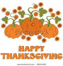 happy thanksgiving vector background stock vector 308365337