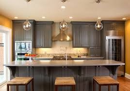 gray kitchen cabinets 15 warm and grey kitchen cabinets home design lover