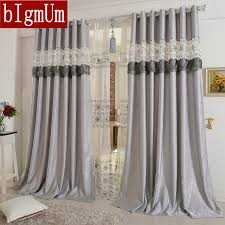 Yellow And Purple Curtains Embroidered Curtains For Living Room Bedroom Hotel Luxury Window