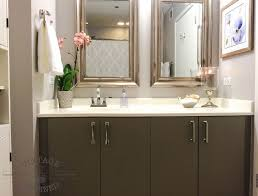 painting bathroom cabinets hometalk
