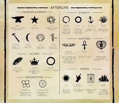 halloween text symbols death and graveyard symbolism infographic for more halloween