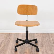 Mid Century Modern Desk Chair by This Danish Modern Chair Is Featured In A Solid Thin Wood With A