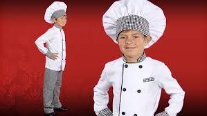 chef costume child chef costume