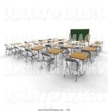 Student Desk Clipart Empty Classroom Clipart 15