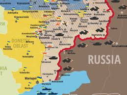 map ukraine the new map of the ukraine conflict is alarming business insider