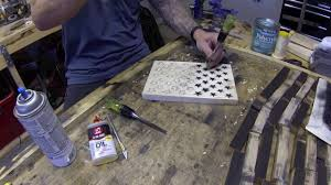 Star Flag Maker Hand Carving Stars For The American Flag Diresta Style Youtube