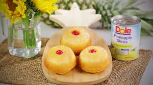 dole pineapple upside down minis dessert simple recipes youtube