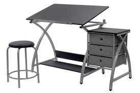 L Shaped Drafting Desk Amazing Desk L Shaped Drafting Table Combination Within Popular