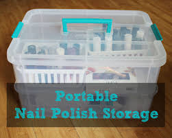 portable nail polish storage nail polish storage organizations