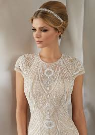 splendid art deco inspired beading bridal and formal inc