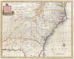 North Florida Map by File 1747 Bowen Map Of The Southeastern United States Carolina