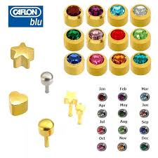 sterilized ear piercing studs buy new mens gents caflon stud ear piercing stud earrings gold