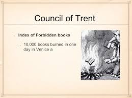 Council Of Trent Summary The Reformation Essential Question How Are Cultures Diffused And