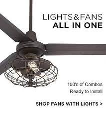 Ceiling Fan With Cage Light Ceiling Fan Light Kits Ls Plus