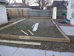 How To Build An Ice Rink In Your Backyard Building A Backyard Ice Rink Part 1 Quarto Homes