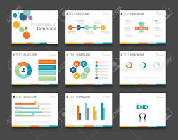 design powerpoint colorful infographic business presentation template set powerpoint