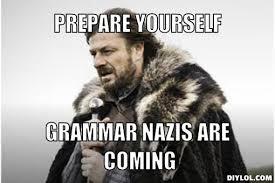 Grammar Correction Meme - grammar memes rose ledgard ma major project