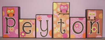 Owl Bedroom Ideas Cute Ideas For Making Wooden Letters For Baby Room With Owl
