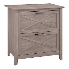 Lateral File Cabinets Bush Furniture Key West Lateral File Cabinet Washed Gray Standard