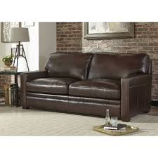Leather Sleeper Sofas Leather Sleepers You Ll Wayfair