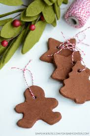memories with handmade cinnamon ornaments