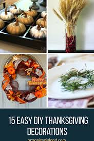 and festive thanksgiving decoration ideas