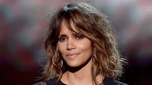 new hairstyle halle berry reveals new edgy shaved flower haircut