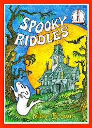 Printable Halloween Riddles by Spooky Riddles Beginner Series Marc Brown 9780001714236