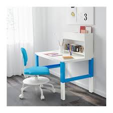 Blue Computer Desk by Påhl Desk With Add On Unit White Blue Ikea