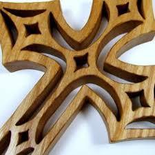 crosscut saw cut oak cross 2 cut scroll saw
