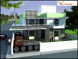 3 bedrooms duplex 2 floors house design in 220m2 10m x 22m
