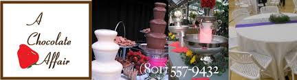 chocolate rentals utah chocolate fountains a chocolate affair utah chocolate