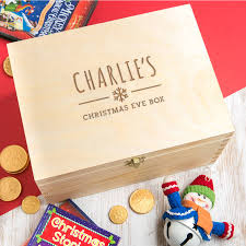christmas boxes personalised children s christmas box by dust and things