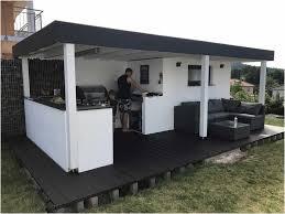outdoor küche outdoor küche weiss schwarz u form gartensofa aus rattan lapazca