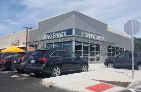 shack shake shack opens at the corner at livingston circle montclair