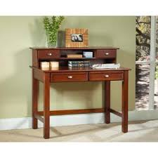 Computer Desk With Hutch Cherry Home Styles Hanover 42 W Student Computer Desk Hutch Cherry