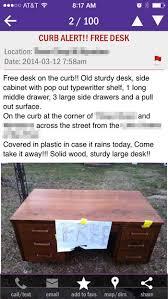 Office Desk Craigslist Updating A Craigslist Desk For Our Office House