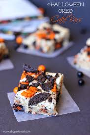 Halloween Cake Flavors by Halloween Oreo Cake Bars I Dig Pinterest