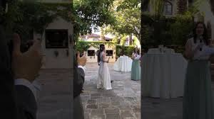Matron Of Honor Poem Meaghan U0027s Maid Of Honor Poem To Kelly And Zef Youtube