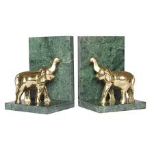 magnificent marble bookends lack marble color brass accents