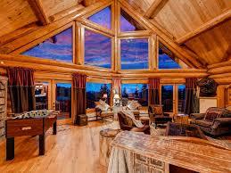 log cabin luxury homes 5000 sqft luxury log mountain home near den vrbo