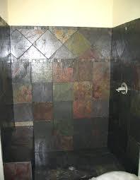 slate tile bathroom designs delighted slate tile bathroom shower pictures inspiration the best