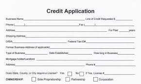 free business credit application form melton norcross u0026 associates