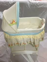 delta disney winnie the pooh gliding bassinet for sale in plano