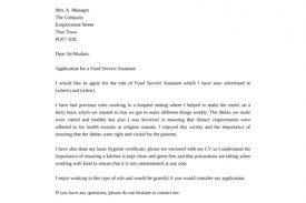 cover letters for job applications free cover letter examples for