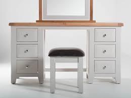 clemence grey u0026 oak country style dressing table set