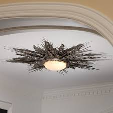 flame light fixture a dramatic low profile ceiling light fixtures