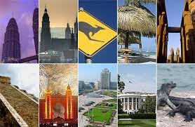 top ten travel destinations for 2009 daily mail